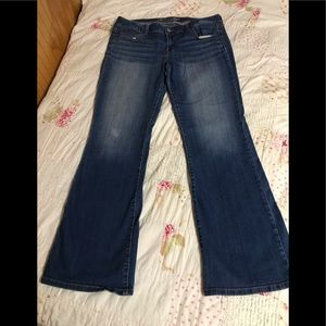 American eagle plus size 16 long boot cut jeans